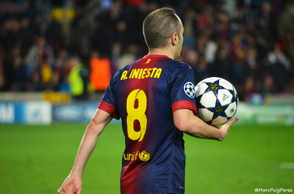 Barcelona legend Iniesta heads to Vissel Kobe in Japan