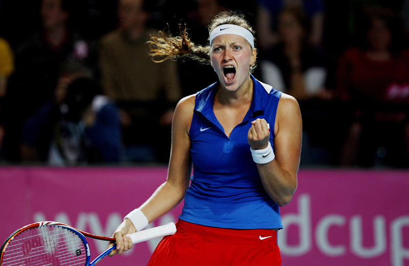 Kvitova talks of difficulties surrounding being a leading tennis player